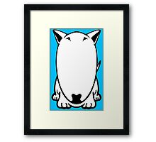 Mini Bull Terrier  Framed Print