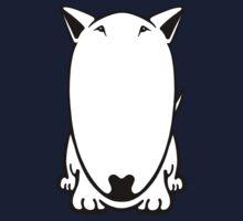 Mini Bull Terrier  One Piece - Short Sleeve