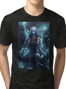 Mass Effect - Tali'zorah Vas Normandy Tri-blend T-Shirt
