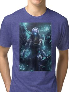 Mass Effect - Tali'zorah Vas Normandy Tri-blend T-Shirt