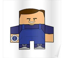 Mighty Morphin Power Rangers - Billy (Blue Ranger) Poster