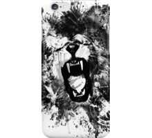 Lions Ambition (Monotoned) iPhone Case/Skin
