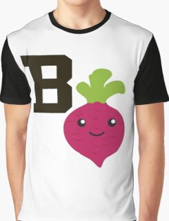 B is for beet Graphic T-Shirt