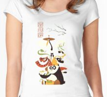 Kung Fu Panda 3 Women's Fitted Scoop T-Shirt