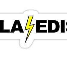 Tesla - Edison Sticker