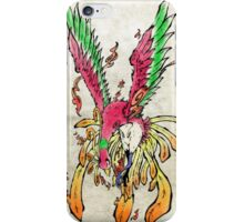 Pokemon Ho-Oh Ink Painting iPhone Case/Skin