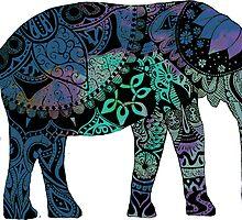 Blue Elephant by sweetslay
