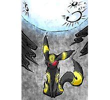 Pokemon Umbreon Ink Painting Photographic Print