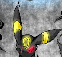 Pokemon Umbreon Ink Painting Sticker