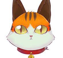 Coeurl Kitten- FFXIV by Xypop