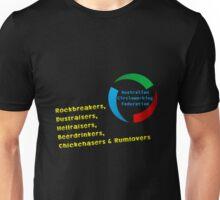 The ACF Mens Rockbreakes & Hellraisers  Unisex T-Shirt