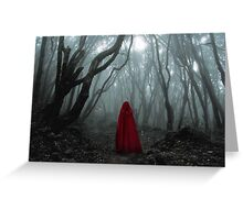 'Into the Woods' Greeting Card