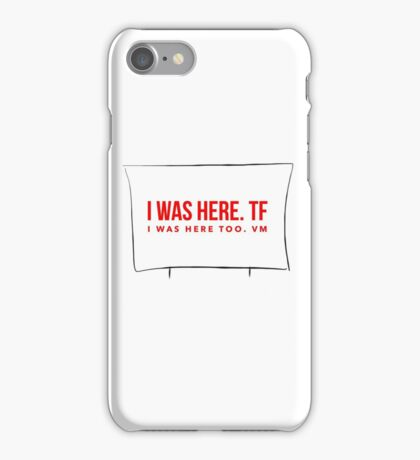 ATBP Wander series: The Pendleton Pike Drive-in Movie screen iPhone Case/Skin