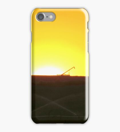Mellow Yellow Sunrise iPhone Case/Skin