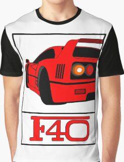 F40 Graphic T-Shirt