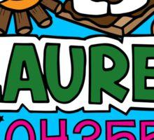 Laurel Sticker