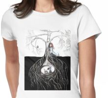Out for a stroll (collaboration) Womens Fitted T-Shirt