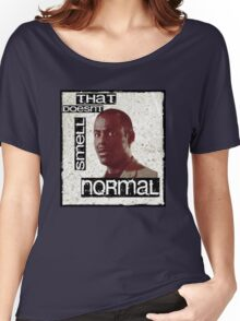 Alan Johnson - Is that normal pooing you're doing? Women's Relaxed Fit T-Shirt