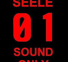 EVANGELION SEELE 01 SOUND ONLY Graphic by regus
