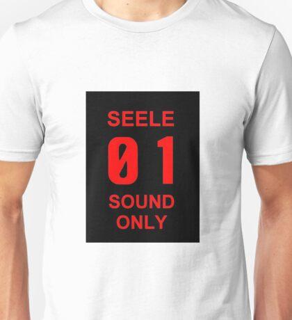 EVANGELION SEELE 01 SOUND ONLY Graphic Unisex T-Shirt