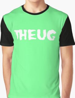 THEUG Black and Green T-Shirt Graphic T-Shirt