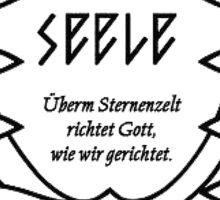 Seele Logo Neon Genesis Evangelion Rebuild Graphic Sticker