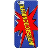 comic book intersectionality iPhone Case/Skin