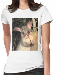 Brush Tailed Possum Womens Fitted T-Shirt