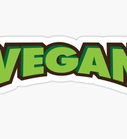 Vegan Logo Sticker