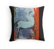 Abstract horse 1 Throw Pillow