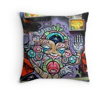 Grafitti in Melbourne, Australia Throw Pillow