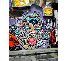 Grafitti in Melbourne, Australia Photographic Print