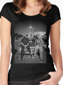Snoop Dogg & Dr. Dre Women's Fitted Scoop T-Shirt