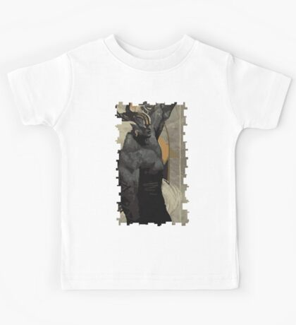Male Qunari Tarot Card Kids Tee