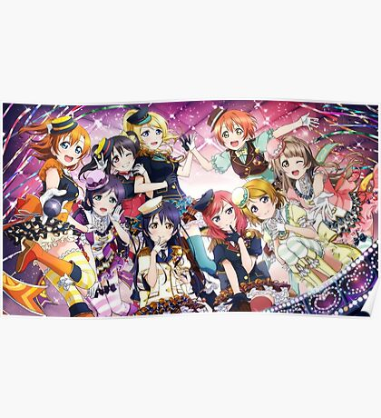 Love Live! School Idol Festival Poster