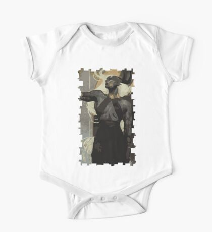 Female Qunari Tarot Card One Piece - Short Sleeve