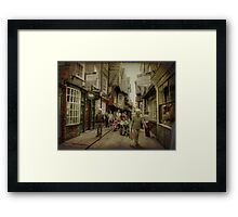 The Shambles, York, UK Framed Print