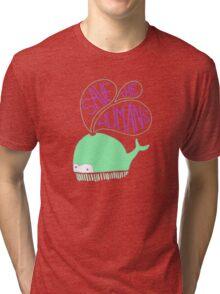 Save the Humans Tri-blend T-Shirt
