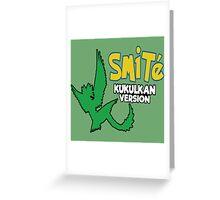 Smite Kukulkan Version Greeting Card