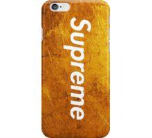 Supreme Gold Edition iPhone Case/Skin