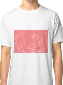 Pink Flower Patterns Classic T-Shirt