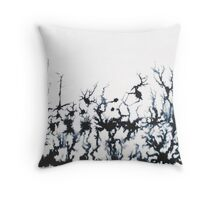 Ink Forrest Throw Pillow