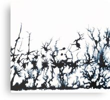Ink Forrest Canvas Print