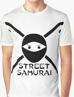 STREET SAMURAI Graphic T-Shirt