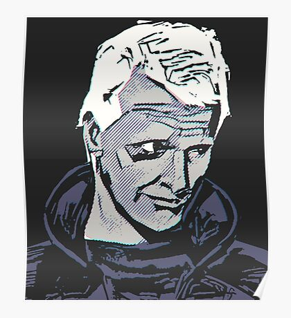 Icons - Roy Batty Poster