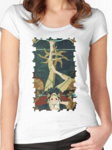 Sera Tarot Card 1 Women's Fitted Scoop T-Shirt