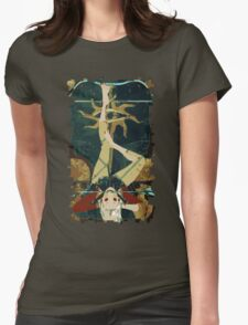 Sera Tarot Card 1 Womens Fitted T-Shirt
