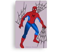 Spider Man (1552 Views) Canvas Print