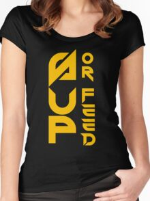 Sup Or Feed Women's Fitted Scoop T-Shirt