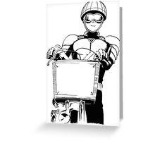 Mumen Rider One Punch Man Greeting Card